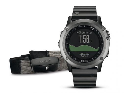 Спортивные часы Garmin Fenix 3 Performer c HRM (датчик пульса)