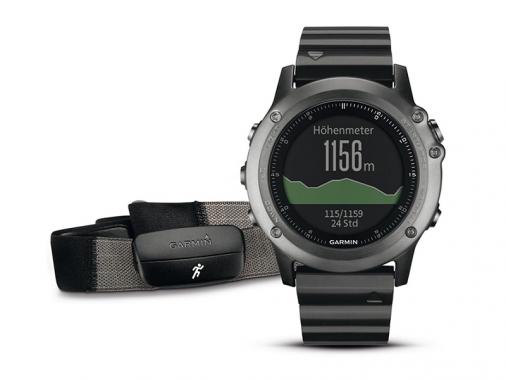 Спортивные часы Garmin Fenix 3 Performer Sapphire c HRM (датчик пульса)
