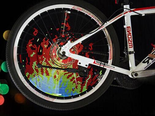 Подсветка для велосипеда HaloWheel для колеса 26 дюймов от Madrobots