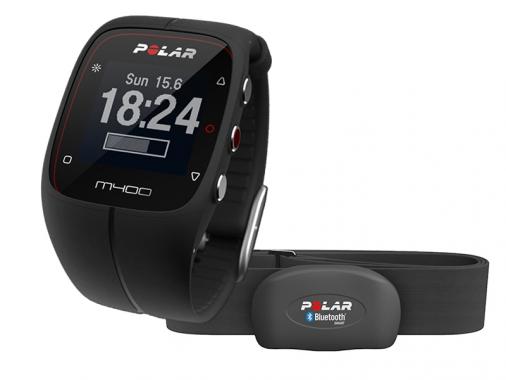 Спортивные часы с GPS Polar M400 c HRM (датчик пульса)