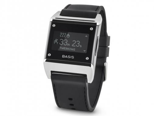 Интеллектуальные часы Basis Carbon Steel Edition madrobots.ru 8990.000