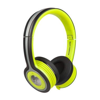 Накладные наушники с микрофоном Monster iSport Freedom Wireless Bluetooth On-Ear от Madrobots