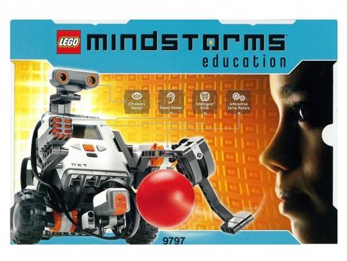 LEGO ПервоРобот NXT 9797 базовый набор образовательная версия
