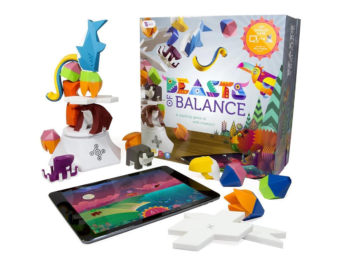 Настольная игра-балансир Beasts of Balance