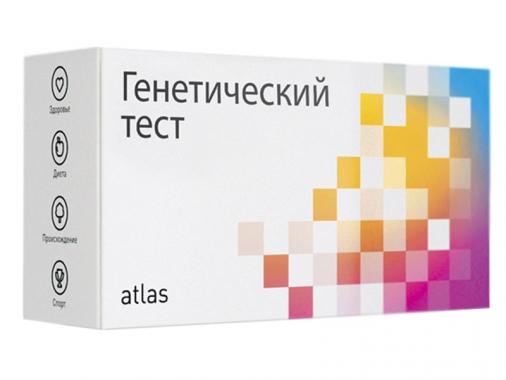 Генетический тест Atlas от Madrobots