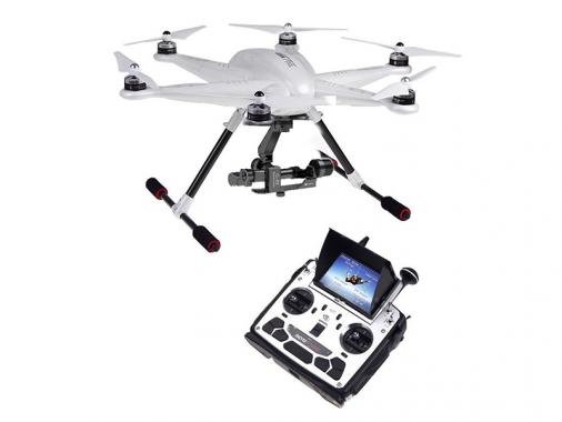 Гексакоптер Walkera Tali H500 (RTF, DEVO F12E, 3D подвес, TX5804 (CE), кабель для GoPro) от Madrobots