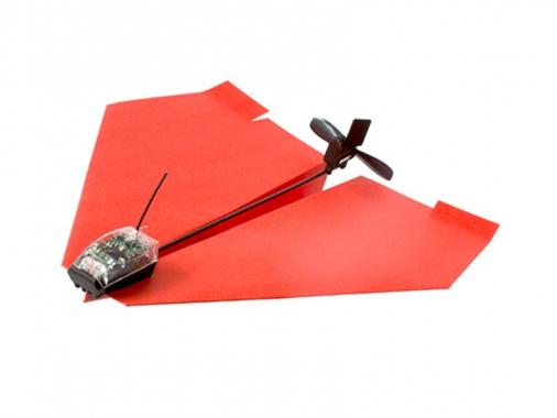 Бумажный самолет PowerUp 3.0 от Madrobots