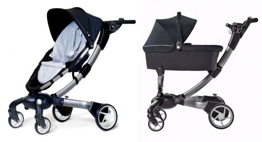 Детская прогулочная коляска 4moms Origami 2-в-1 от Madrobots