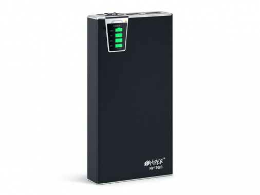 Внешний аккумулятор HIPER Power Bank MP15000 от Madrobots