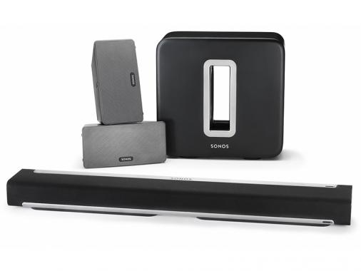 Комплект из двух плееров, саундбара и сабвуфера Sonos PLAY:3 + Sonos PLAYBAR + Sonos SUB от Madrobots