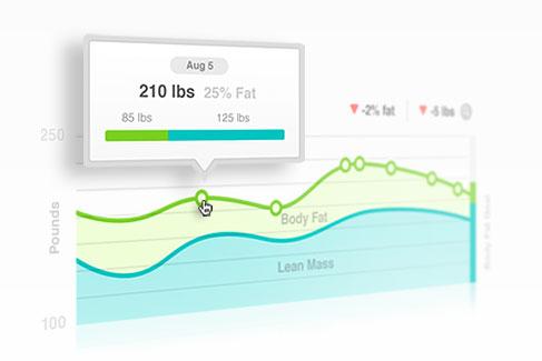 Fitbit Aria (Весы с расширенной статистикой и поддержкой Wi-Fi)