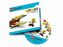 LEGO Education WeDo v.1.2, комплект занятий, книга для учителя 2000097