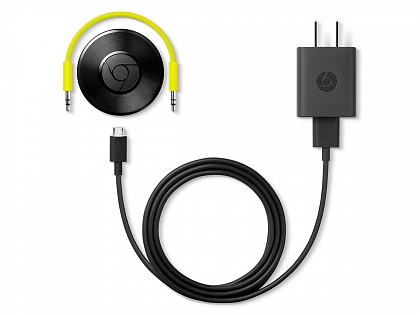 Аудиоплеер Google Chromecast Audio
