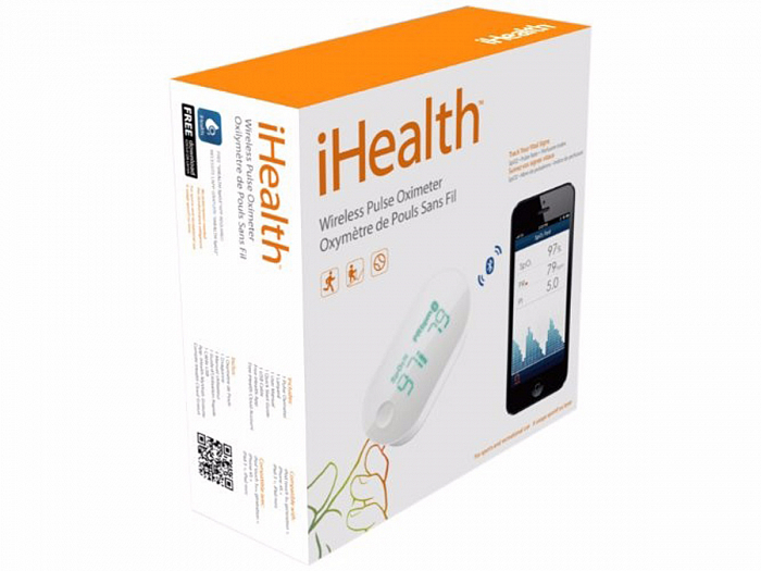 Пульсоксиметр iHealth Wireless Pulse Oximeter PO3