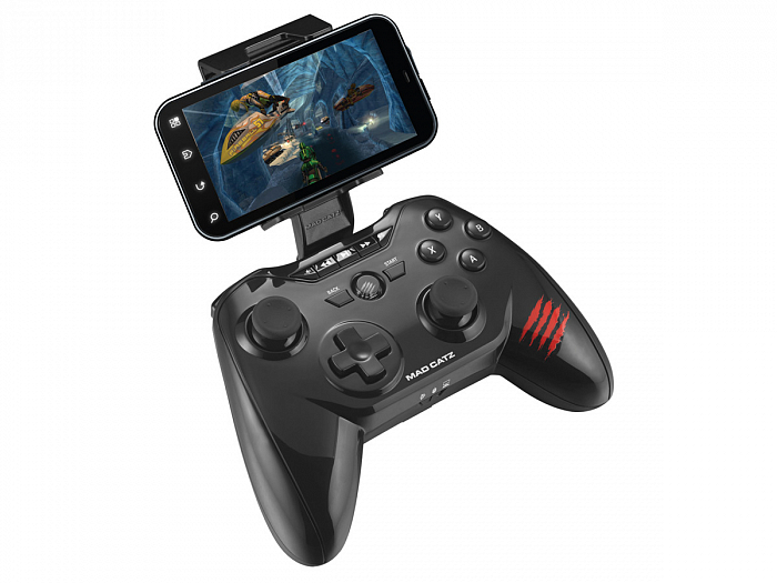 PC Геймпад Mad Catz C.T.R.L.R Mobile Gamepad - Gloss Black беспроводной (MCB3226600C2041)