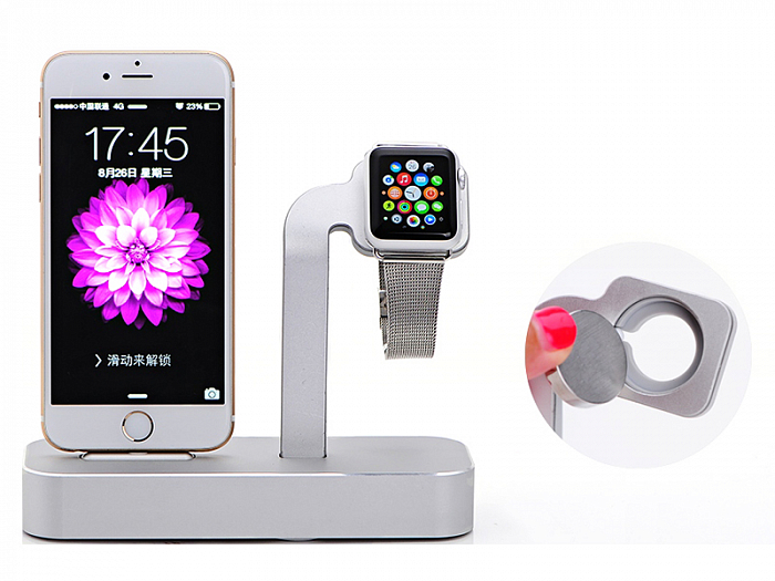 Док-станция для iPhone и Apple Watch COTEetCI Base Dock