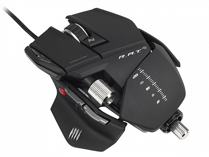 PC Мышь Mad Catz R.A.T.5 Gaming Mouse - Matt Black проводная лазерная (MCB4370500B2041)