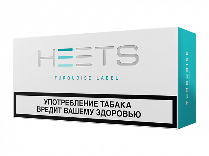 Табачные стики HEETS from Parliament Turquoise Label (блок)
