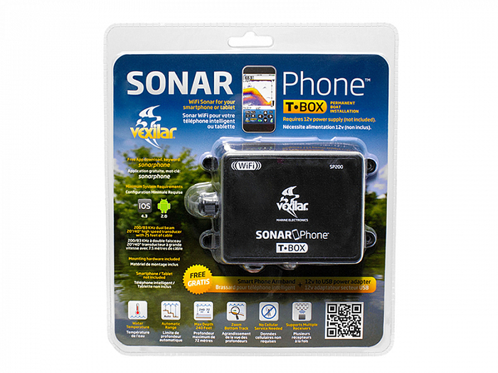 WiFi-эхолот Vexilar Sonar Phone SP200