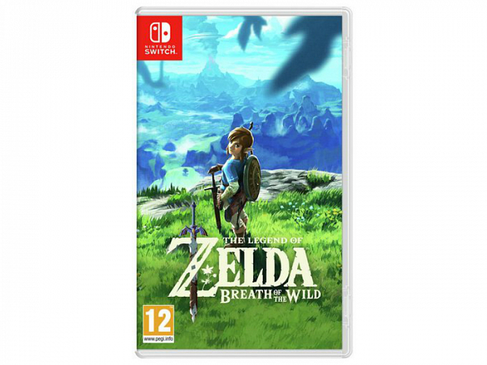 Игра для Nintendo Switch The Legend of Zelda: Breath of the Wild