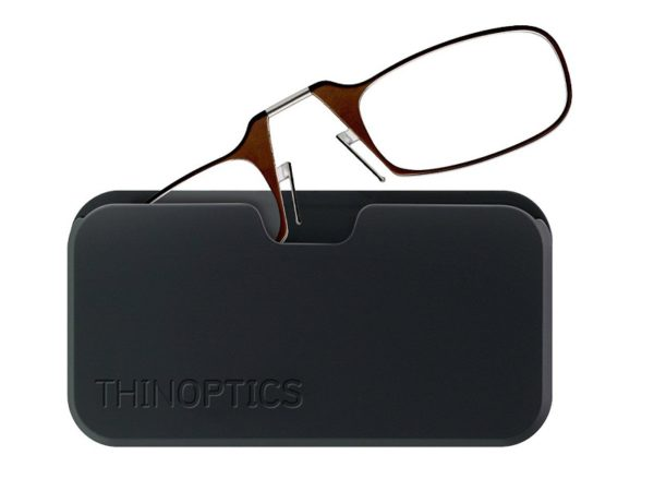 Мини-очки для чтения ThinOPTICS в чехле - купить по низкой цене ... 519ab271ecb