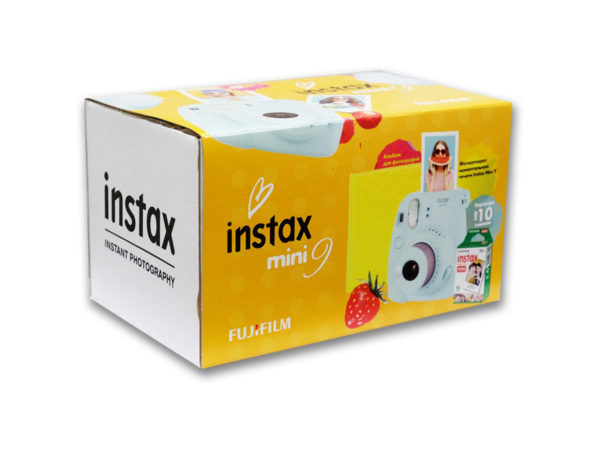 Подарочный набор Fujifilm Instax Mini 9 Ice Blue Set