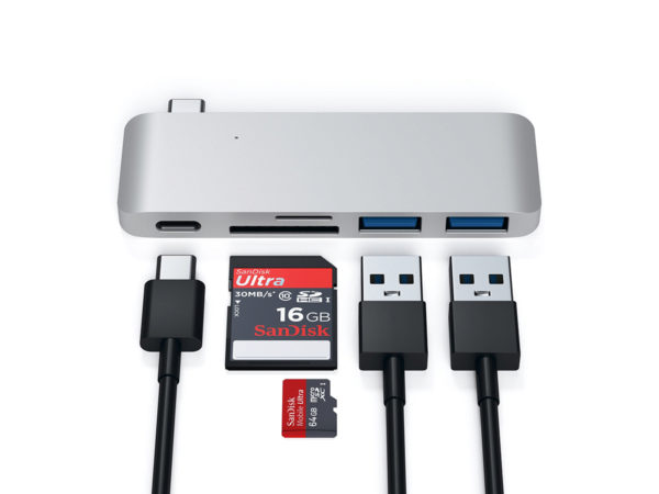 USB-хаб Satechi Type-C USB Passthrough Hub