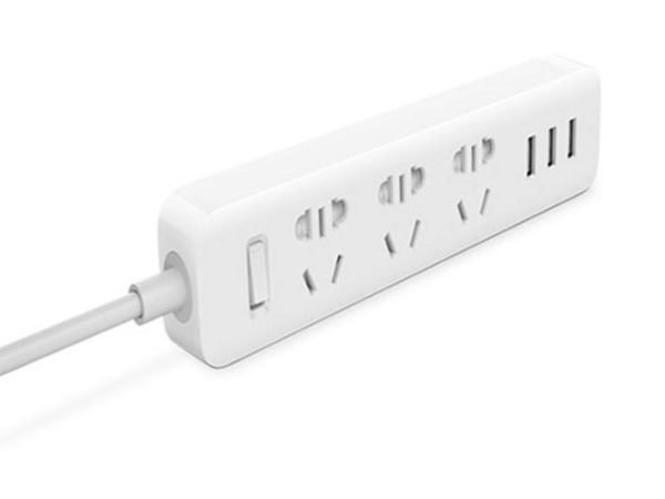 Удлинитель Xiaomi Mi Power Strip (3 розетки, 3 USB)
