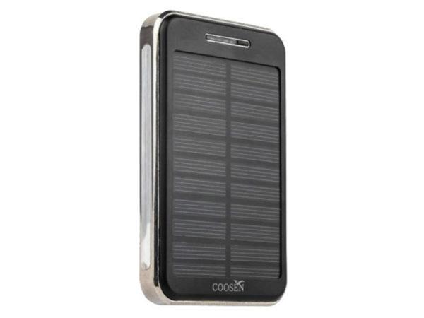 внешний аккумулятор с солнечной батареей Coosen Solar Charger Power